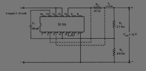 regulator IC LM723